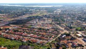 Vista de Porto Velho com o Rio Madeira ao fundo