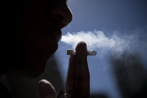 Fumante (Marcelo Camargo/Agência Brasil)
