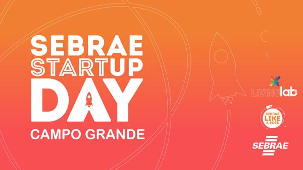 O Startup Day começa às 8 horas, no Living Lab