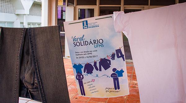 Varal Solidário UFMS