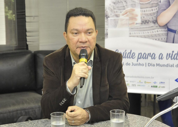 Ricardo Senna, representou o governador no Milk Break realizado na Assembleia Legislativa