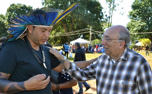 Pedro Chaves se comprometeu a ajudar a encontrar uma solução que permite resolver definitivamente a disputa pela terra na regiões de Sidrolândia e Dois Irmãos do Buriti