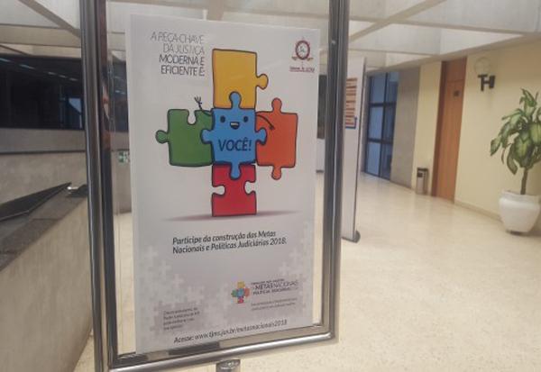 O intuito é dar voz a cada um que tenha uma ideia para melhorar e aperfeiçoar a Justiça no Brasil
