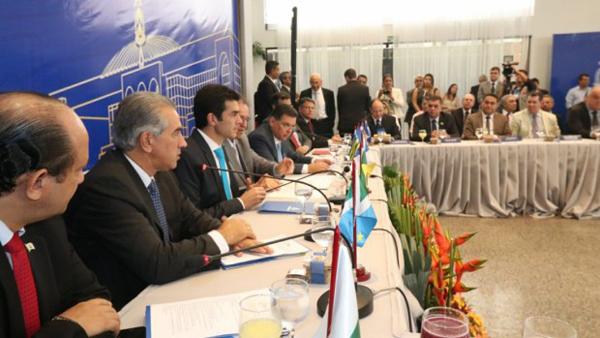 No encontro desta sexta-feira, foi aprovada a entrada do Maranhão no bloco de governadores