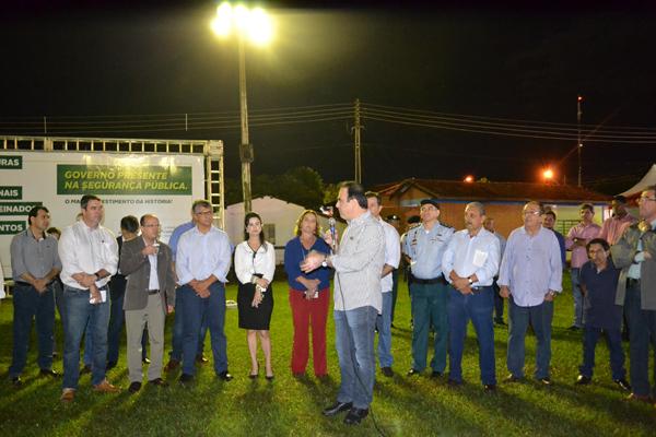 O evento aconteceu no Parque de Exposições Libório Ferreira de Souza, na cidade de Maracaju