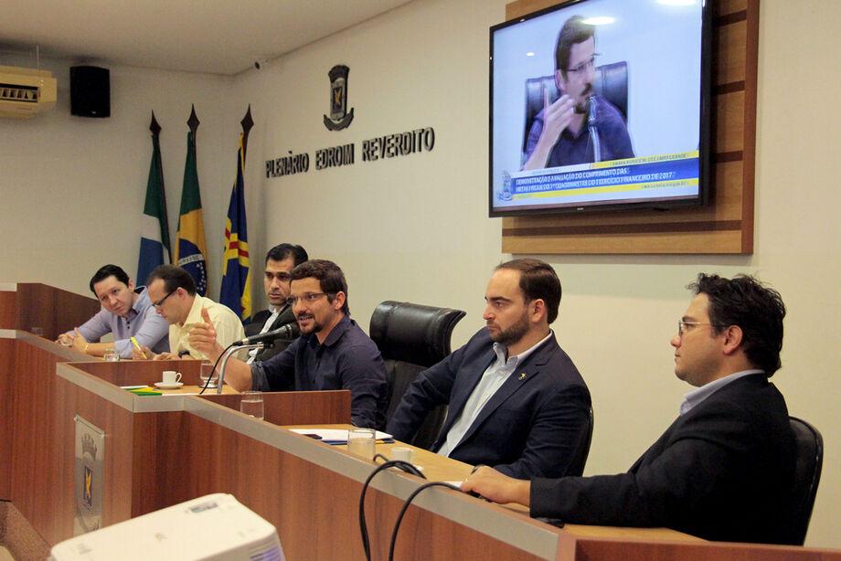 Neto destacou que houve um crescimento em 15,97% na arrecadação do IPTU