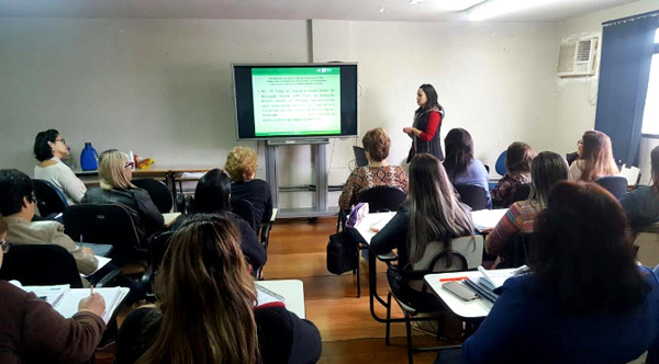 De acordo com a coordenadora do Núcleo da Sala de Apoio Pedagógico, Daniela Gil, foram três dias de trabalho intenso