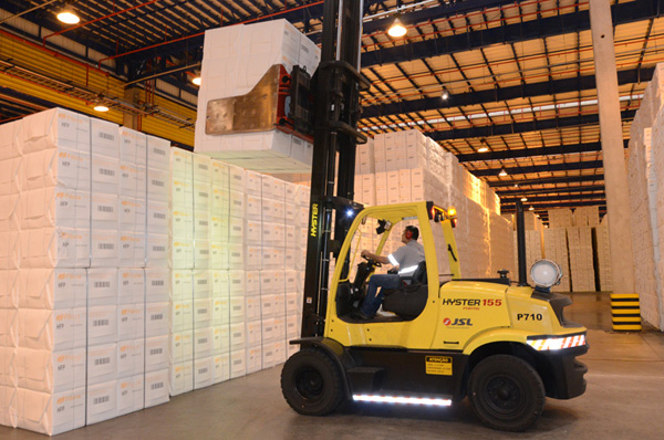 Nos últimos 30 dias, a mais nova fábrica da empresa produziu a média de sua capacidade nominal