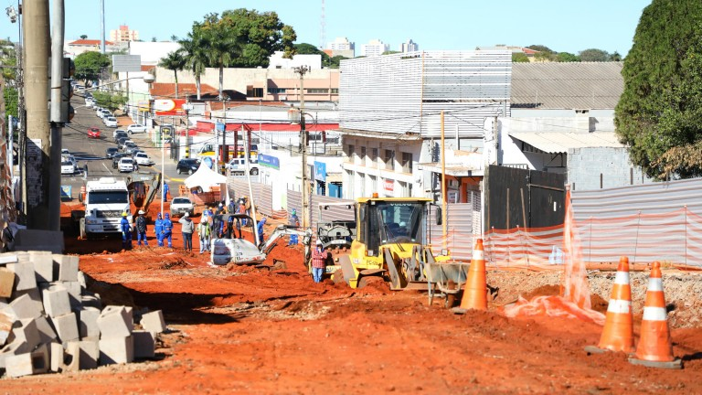 Confira as rotas para evitar as obras do Reviva Campo Grande