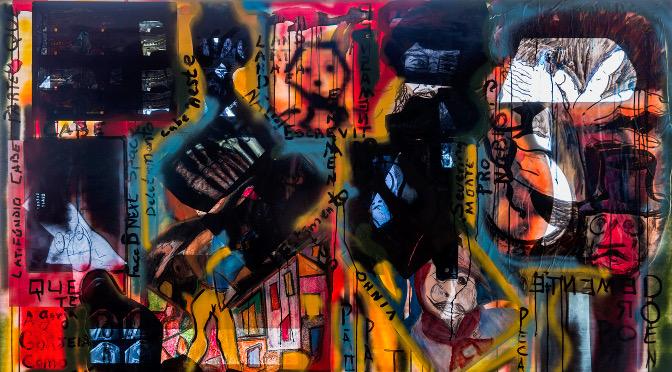 """Em """"TransAparente"""", Ricardo Giuliani dialoga entre formas radiografadas existentes, desenhos e pinturas realizadas nos suportes de raios X"""