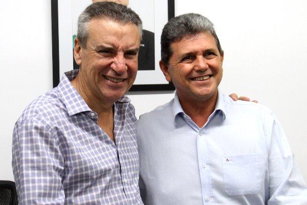 Paulo Corrêa recebeu João Rocha na sala da Presidência
