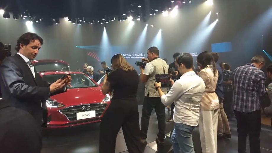 Lançamento foi no mesmo local de 2010, Hyundai aposta no conceito narrativa para a família.