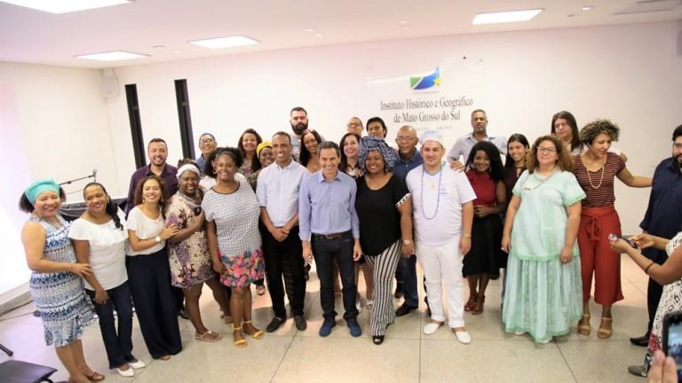 O prefeito Marquinhos Trad participou do evento e enfatizou a questão da correta orientação e manejo em relação à arborização urbana