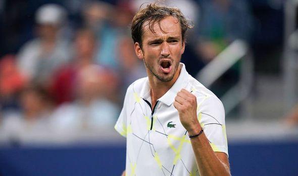 Medvedev avançou para três finais seguidas em agosto, quando faturou o Masters 1000 de Cincinnati e foi batido nas finais de Washington e Montreal