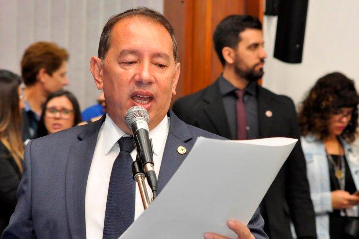 O deputado estadual Gerson Claro fez o anúncio hoje