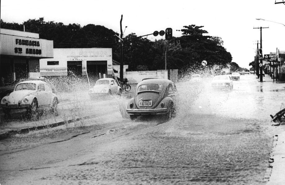 Avenida Julio de Castilho - Enchente