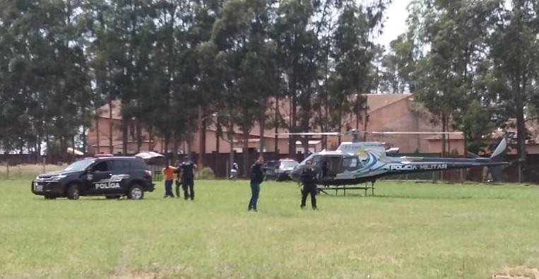 A polícia suspeita do envolvimento de Salinas na fuga de 75 presos da Penitenciária Regional de Pedro Juan Caballero