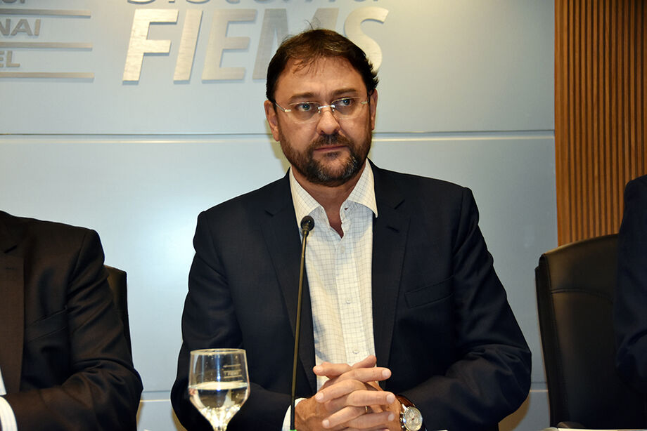 O presidente da Fiems, Sérgio Longen