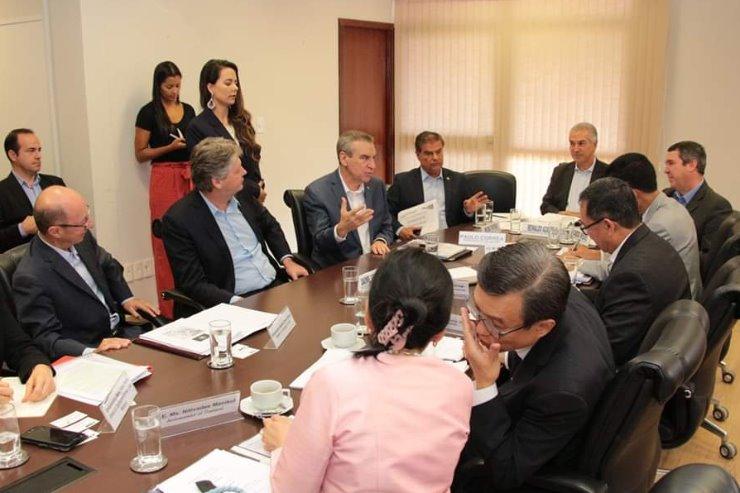 Presidente destacou as potencialidades comerciais de Mato Grosso do Sul