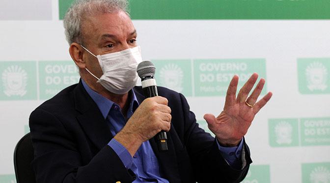 O secretário estadual de Saúde, Geraldo Resende, falou que todos os sul-mato-grossenses que voltarem ao Estado em busca de atendimento médico terão assistência garantida.