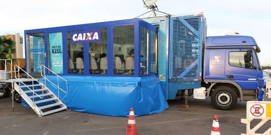 O Caminhão-Agência vai estar localizado na Escola Municipal Cecília Perin, rua Máximo Giacomo Destefani, s/n e funcionará das 08h às 14h