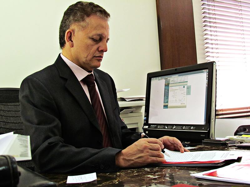 Vice-presidente da OAB/MS, Gervásio Alves de Oliveira Júnior