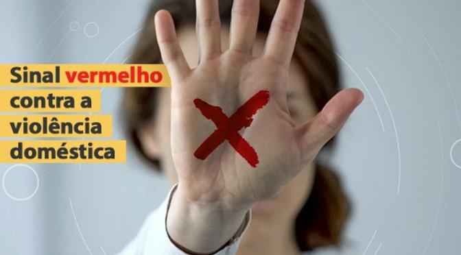 """Uma campanha nacional de ajuda a vítimas de violência doméstica em tempos de pandemia: essa é a """"Sinal Vermelho"""", lançada em todo o país no dia 10 de junho"""
