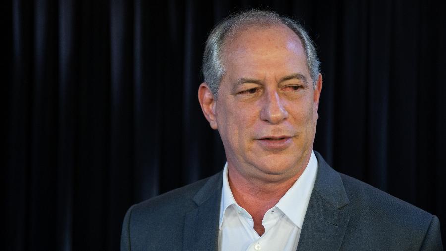 Ex-governador do Ceará Ciro Gomes