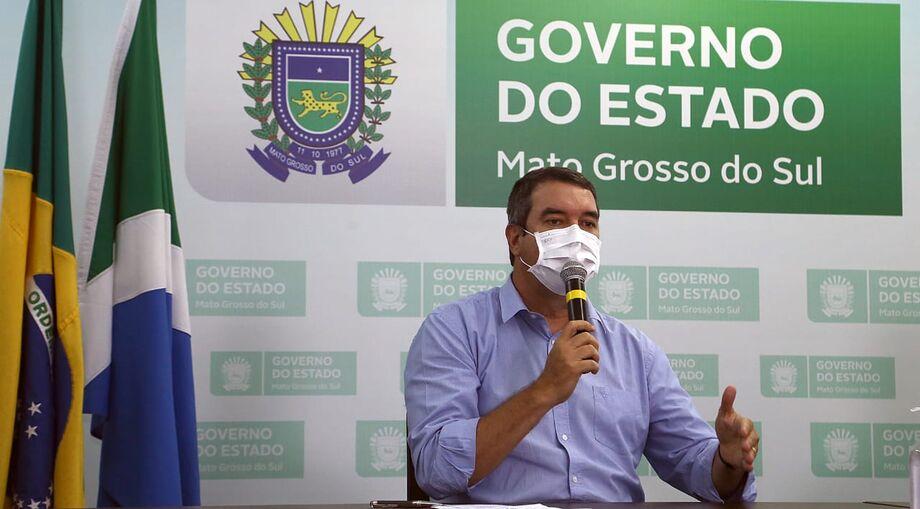 O secretário de Governo e Gestão Estratégica, Eduardo Riedel