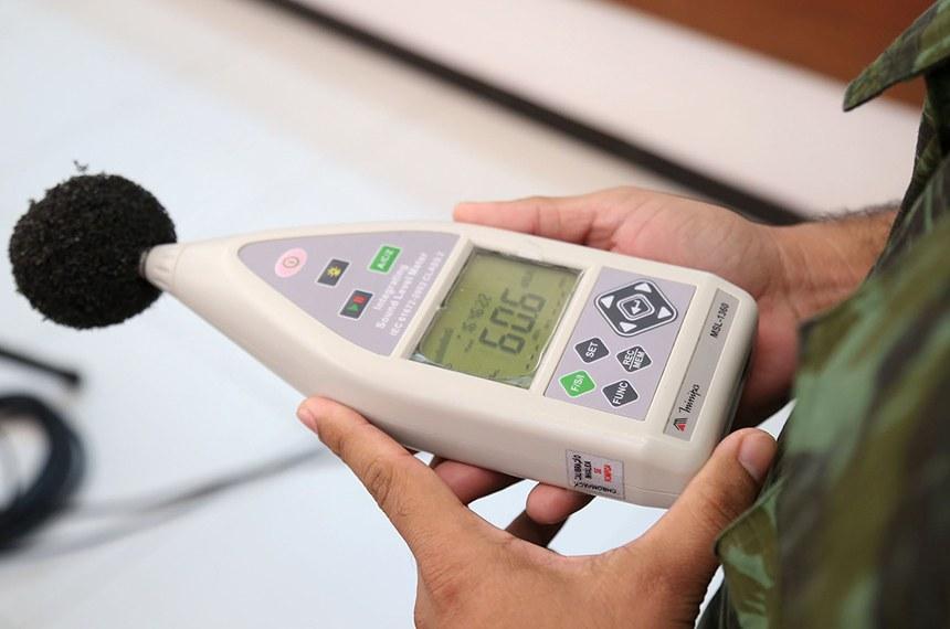 O equipamento será mais uma ferramenta que auxiliará os agentes de segurança pública municipal durante as ações de combate à poluição sonora