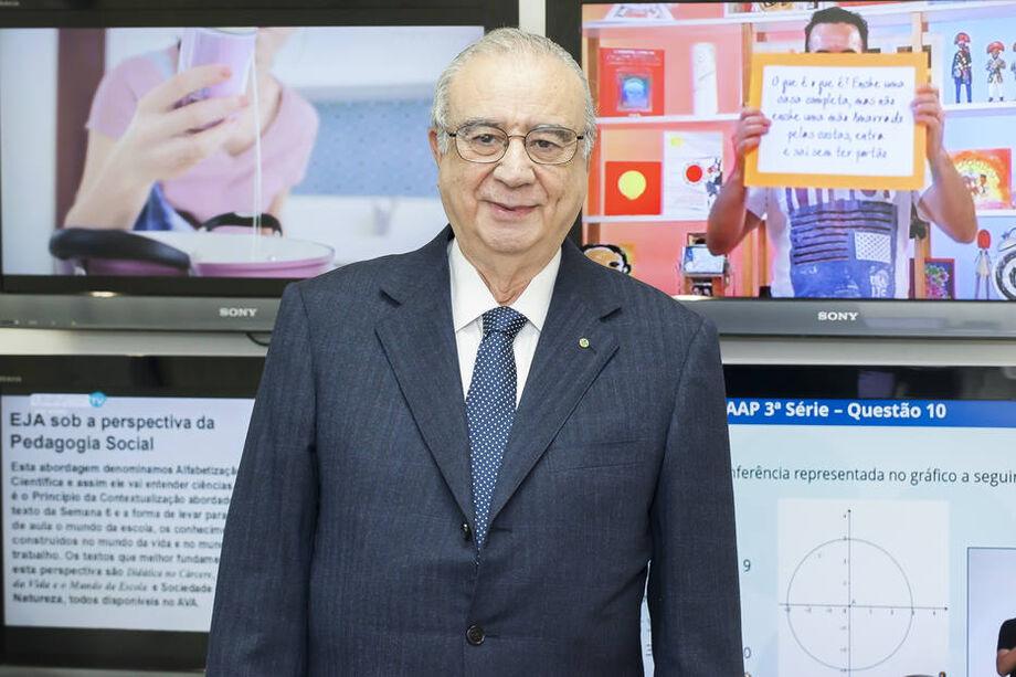 Presidente da TV Cultura, José Roberto Maluf