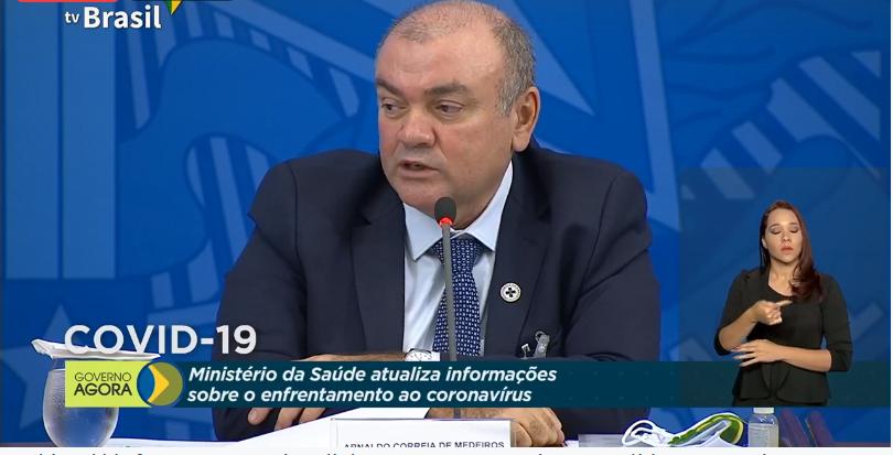 Secretário de Vigilância em Saúde, Arnaldo Correia de Medeiros