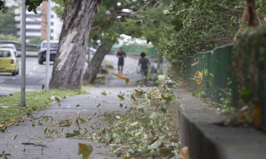 O fenômeno ficou longe de ser chamado de ciclone bomba, apesar de ter relações com ele