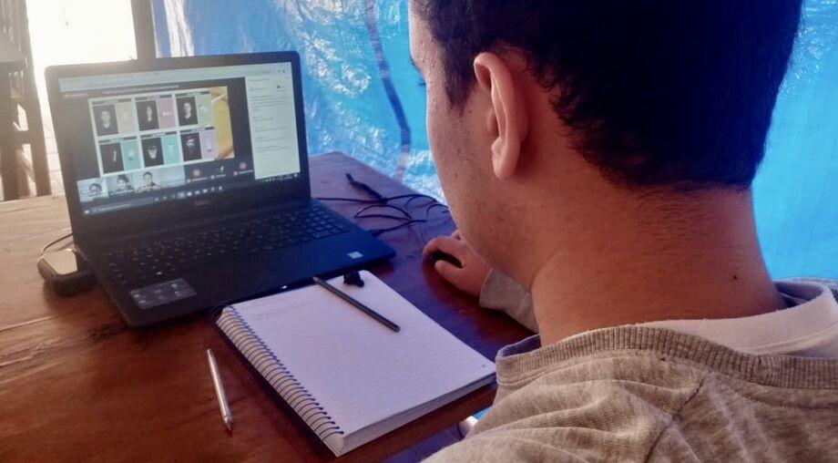 Projetos que antes eram de sala de aula agora estão no mundo virtual