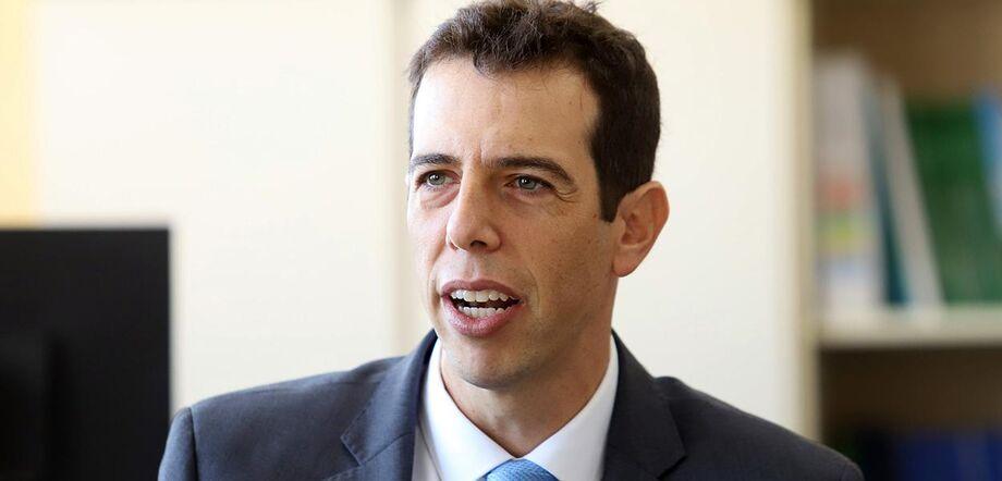Renato Feder foi apontado após demissão do antigo ministro da Educação, Abraham Weintraub