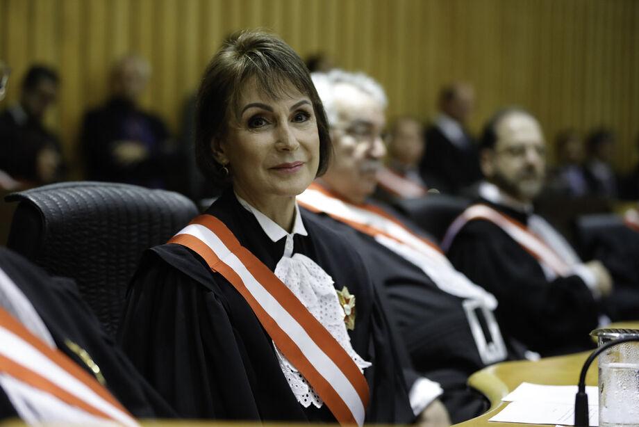 A ministra Maria Cristina Peduzzi, presidente do Tribunal Superior do Trabalho