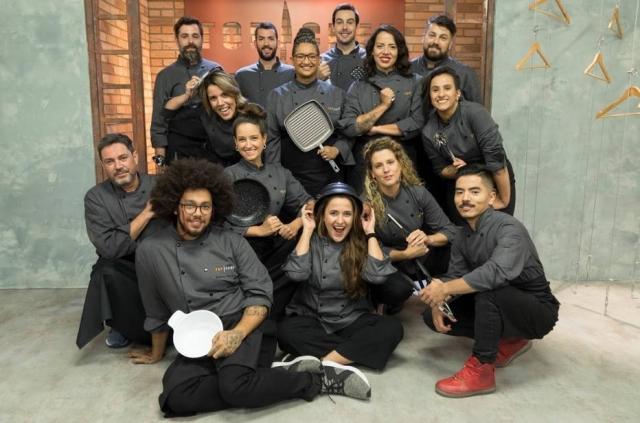 Os participantes da 2ª temporada do 'Top Chef'