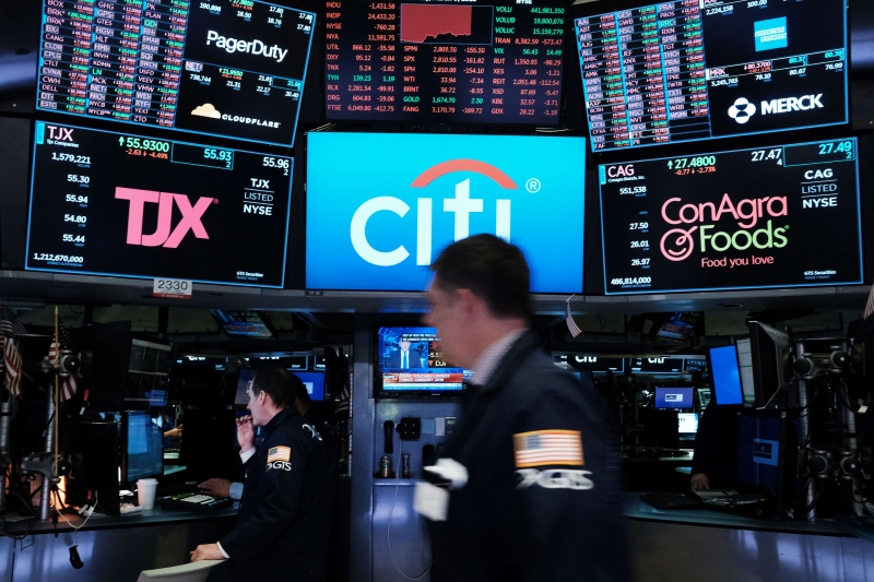 As bolsas de Nova York fecharam em baixa nesta terça-feira, 7