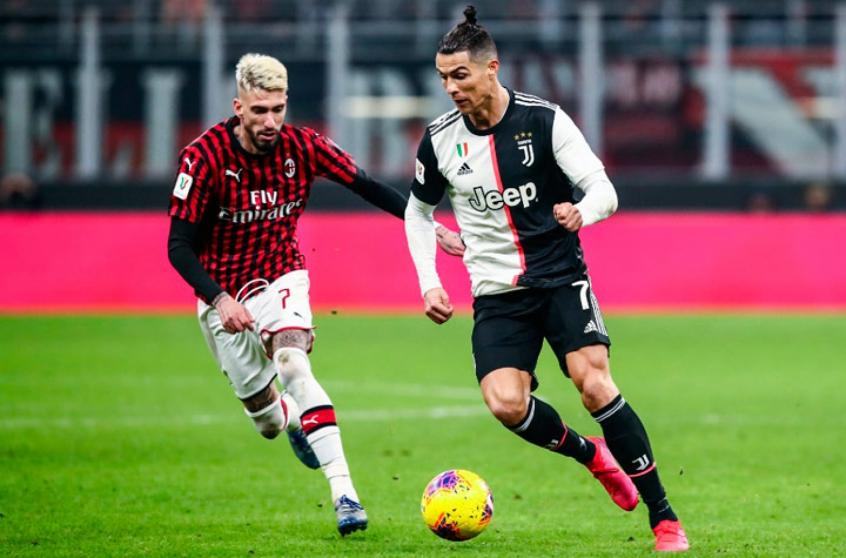 O time de Cristiano Ronaldo levou três gols em cinco minutos