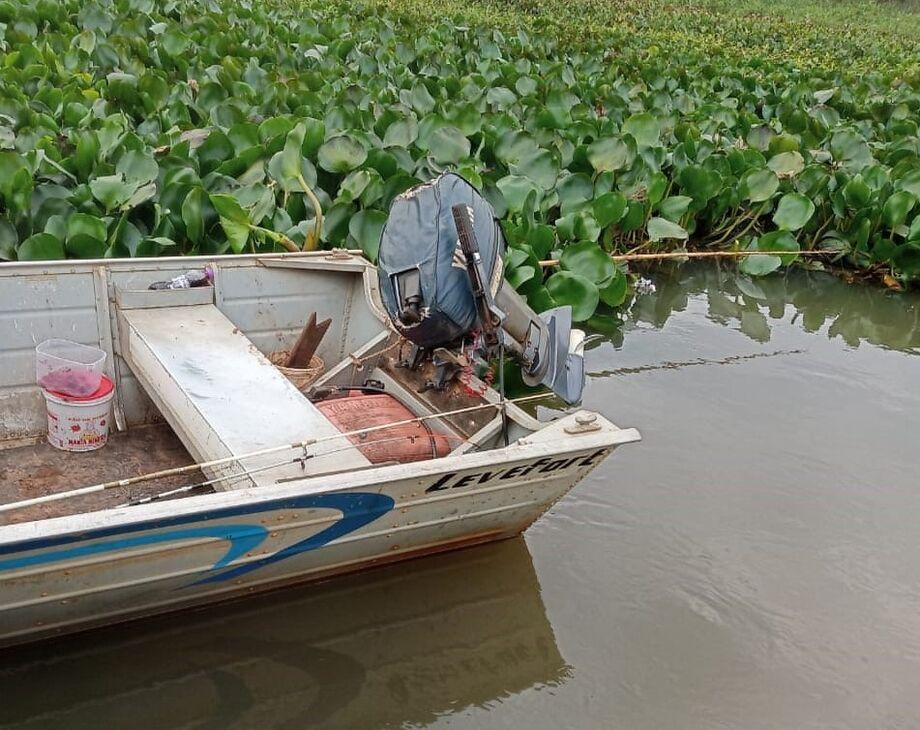 Cerca de 7kg de peixes foram libertos novamente ao rio