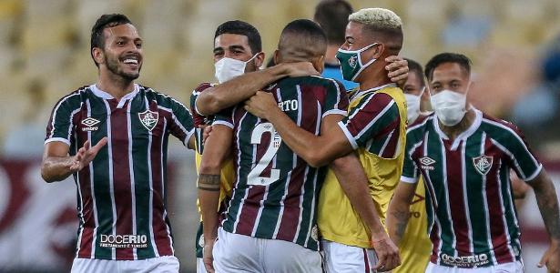 O time bateu o adversário Flamengo ontem (8)
