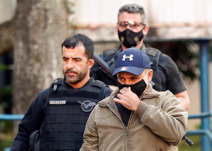 O ex-assessor parlamentar Fabrício Queiroz no dia de sua prisão