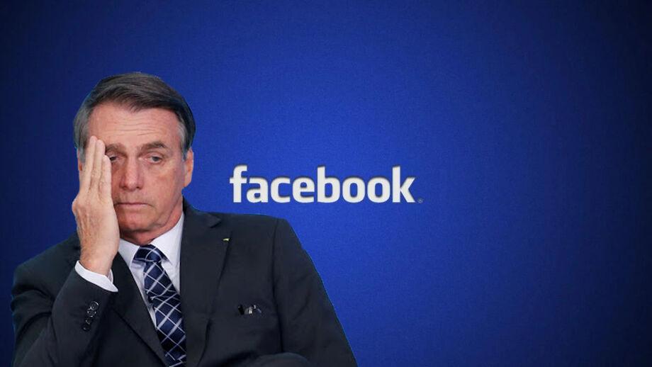 Para o presidente,  o Facebook violou a liberdade de expressão de militantes de direita