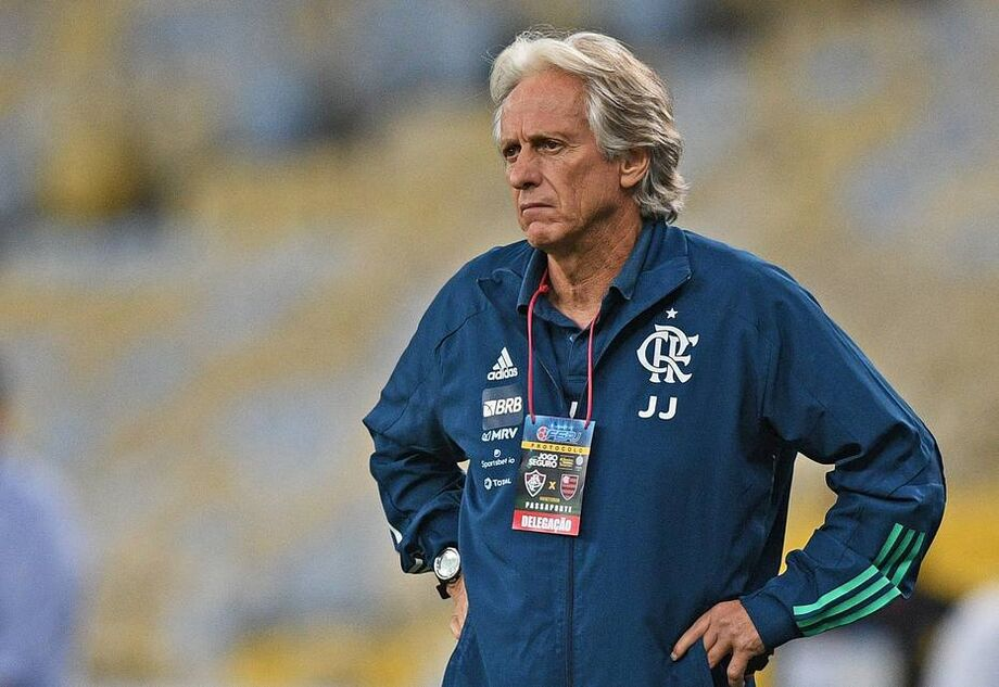 Jorge Jesus, técnico do Flamengo