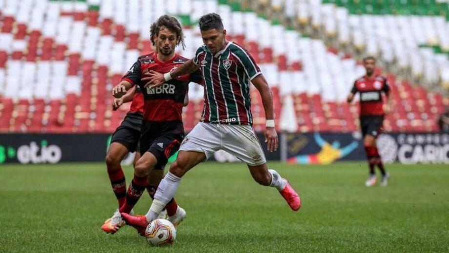 Flamengo faz 2 a 1 no Fluminense no primeiro jogo da final do Campeonato Carioca 2020