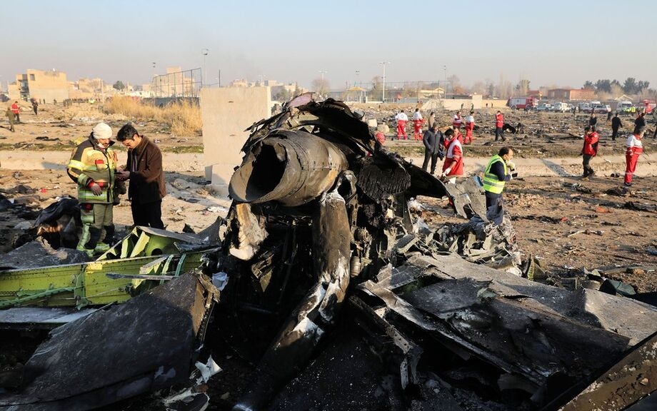 Os 176 ocupantes do avião ucraniano morrerão