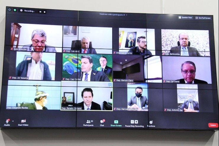 Votações e debates sobre as proposições pautadas para a Ordem do Dia acontecem por vídeoconferência