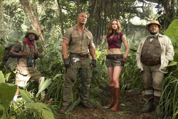 Cena do filme Jumanji: Bem Vindo à Selva