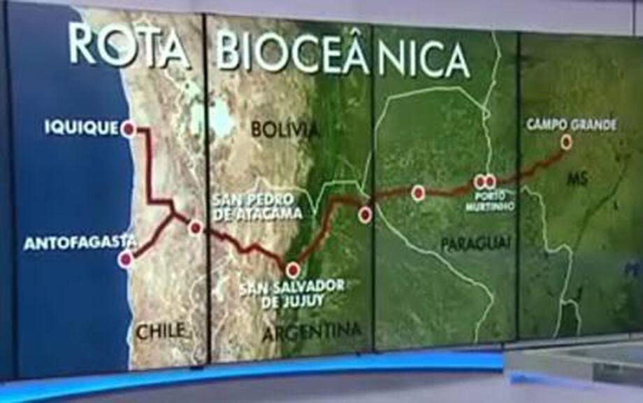 A ação faz parte do projeto de pesquisa e extensão Corredor Bioceânico da Universidade Federal de Mato Grosso do Sul (UFMS)