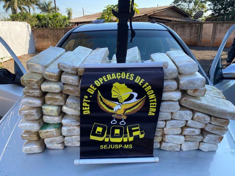 A ação ocorreu em virtude da Operação Hórus, parceria da Secretaria de Estado de Justiça e Segurança Pública com o Ministério da Justiça e Segurança Pública